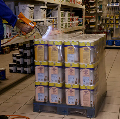 Film rétractable protection anti vol