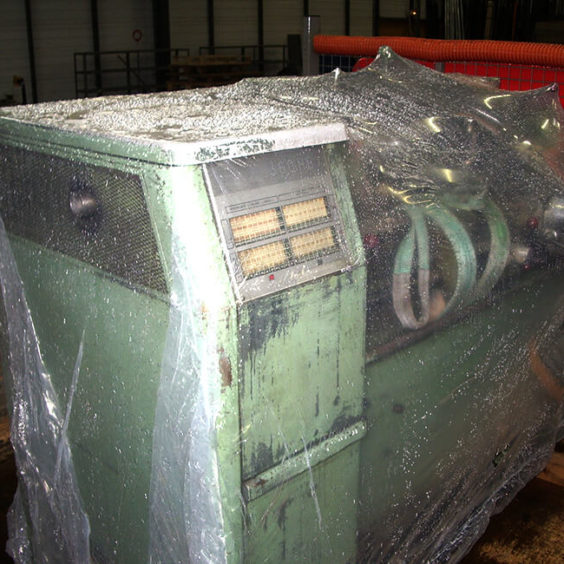 Protecting Industrial Products, Industrial Products Protection Using Shrink-Wrap