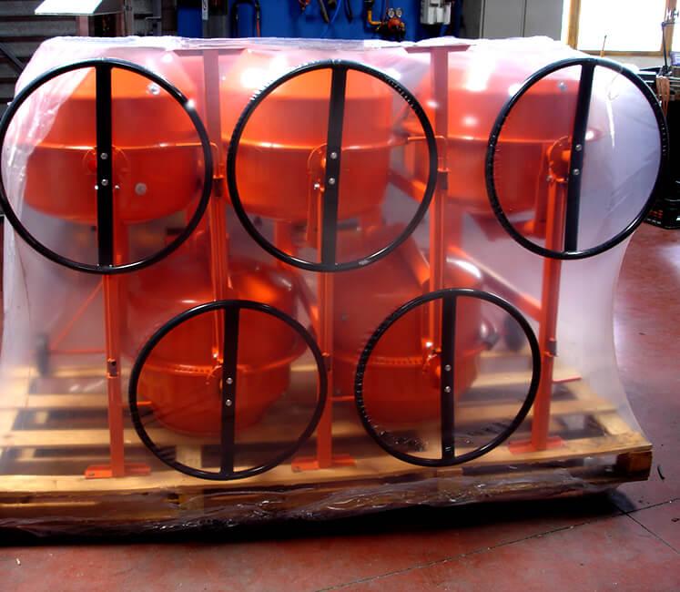 Emballage de protection des biens industriels Ripack