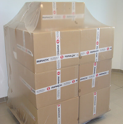 Emballage de protection des cartons Ripack