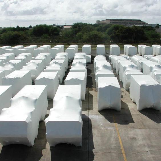Emballage de protection des produits fomes variées Ripack